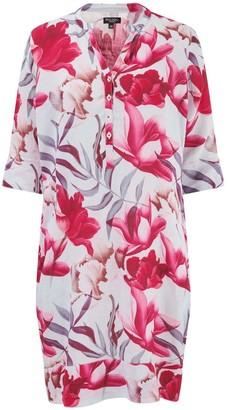 Nologo Chic Jungle Print Tunic Dress