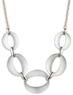 Alexis Bittar Large Five-Link Necklace, 16