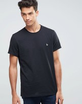 Jack Wills T-Shirt In Classic Regular Fit in Black
