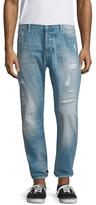 Scotch & Soda Dean Sundrench Repair Slim Jeans
