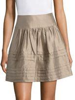 Giorgio Armani Silk Taffeta Skirt