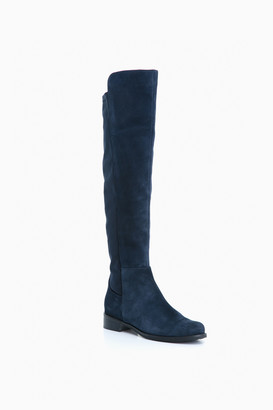 Blondo Navy Suede Waterproof Velma Boots