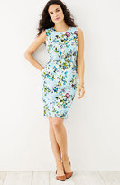 J. Jill Floral Sleeveless Dress