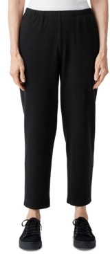 Eileen Fisher Organic Tapered Ankle Pants