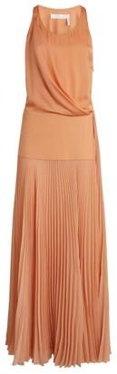 Chloé Sleeveless Pleated Dress
