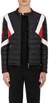Neil Barrett Men's Colorblocked Quilted Racer Jacket