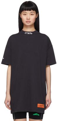 Heron Preston Black Style T-Shirt