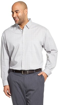Van Heusen Big & Tall Traveler Classic-Fit Stretch Button-Down Shirt