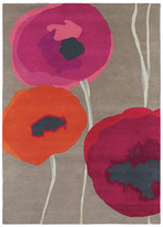 Sanderson Poppies Red/Orange Rug - 140x200cm