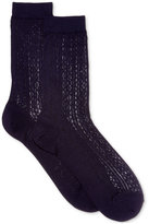 Polo Ralph Lauren Women's Vertical Openwork Trouser Socks