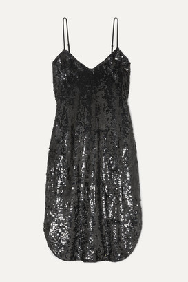 Nili Lotan Sequined Chiffon Dress