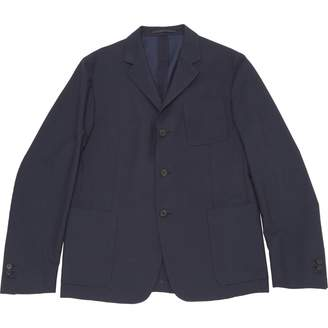 Prada Navy Cotton Jackets