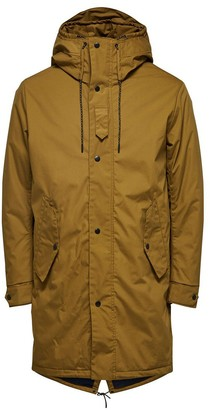 Selected Khaki Iconic Fishtail Parka - Camel / S