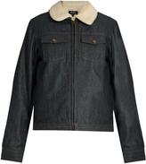 A.P.C. Bonnie zip-through denim jacket