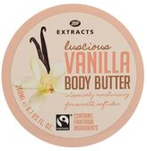 Boots Extracts refresh Boots Extracts [Vanilla Body Butter] 200ml Containing Fairtrade ingredients