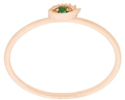 Delfina Delettrez 18kt rose gold Micro Eye ring