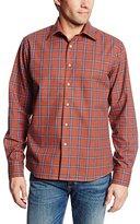 Mason Men's Long Sleeve Woven Plaid Shirt