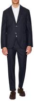 Luca Roda Tetris Wool Notch Lapel Suit