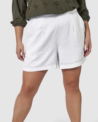 Something 4 Olivia Jade Linen Shorts