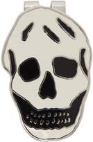 Alexander McQueen Off-White Skull Money Clip