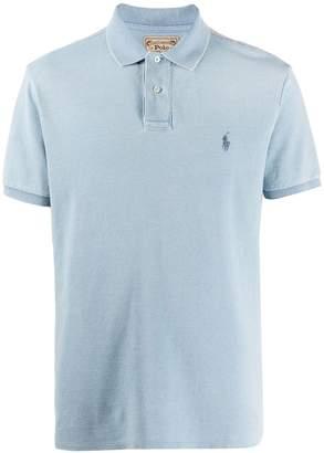 Ralph Lauren short sleeve contrast logo polo shirt