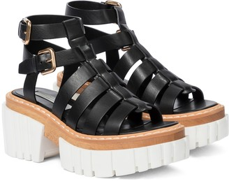 Stella McCartney Emilie faux leather platform sandals