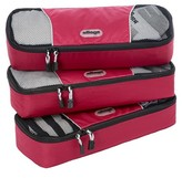 eBags Slim Packing Cubes - 3pc Set (Raspberry)