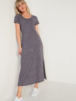 Thumbnail for your product : Old Navy Linen-Blend Maxi T-Shirt Shift Dress for Women