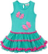 Rare Editions Butterfly Tutu Dress, Toddler & Little Girls (2T-6X)