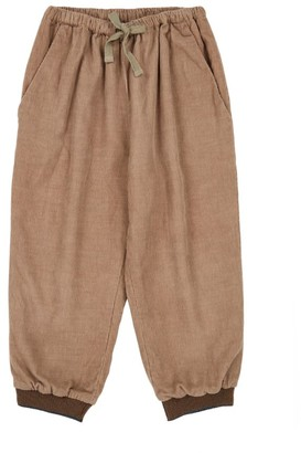 Caramel Cotton Drawstring Trousers (3-6 Years)