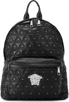 Versace quilted Medusa backpack - men - Leather/metal - One Size