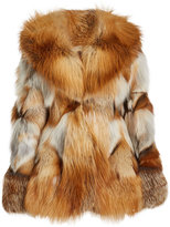 Anna Sui Fox Fur Jacket