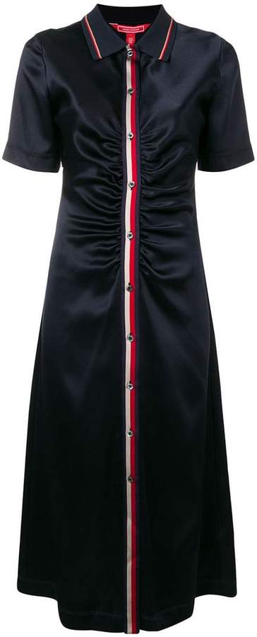 Tommy Hilfiger button-up midi dress