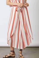 Cotton Candy Rust Stripe Pants