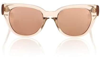 Linda Farrow 653 C5 rectangular sunglasses