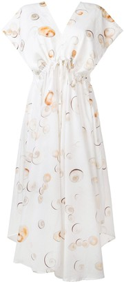 Tara Matthews Seashell Printed Dress