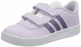 adidas Unisex Baby Vl Court 2.0 CMF First Walker Shoe Size: 3K