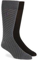 Polo Ralph Lauren Men's Diagonal Stripe Socks