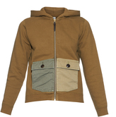 Visvim Contrast-pockets hooded sweatshirt
