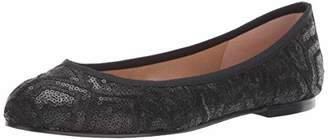 French Sole Women's Olivia Ballet Flat Medium US