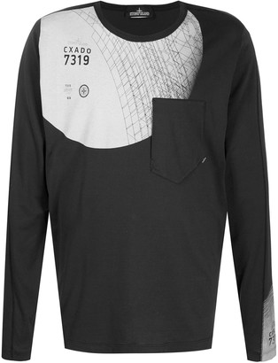 Stone Island Shadow Project Patch Pocket Sweatshirt
