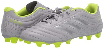 adidas Copa 20.4 FG (Grey Two/Matte Silver/Solar Yellow) Men's Soccer Shoes