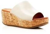 Gentle Souls Megan Platform Wedge Slide Sandals