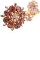 Kate Spade Trellis Blooms Double Ring