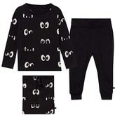 Little Eleven Paris Eye Print Pyjamas