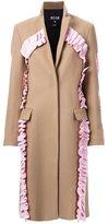 MSGM ruffled coat