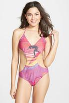 Billabong Seventy Three Aloha Cutout One-Piece Swimsuit