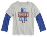 Under Armour No Shortcuts Slider T-Shirt (Toddler Boys & Little Boys)