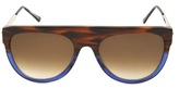 Thierry Lasry Vandaly Flat-top Oval-frame Sunglasses