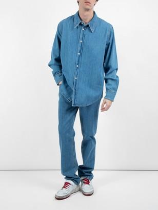 Calvin Klein Jaws Denim Shirt Blue